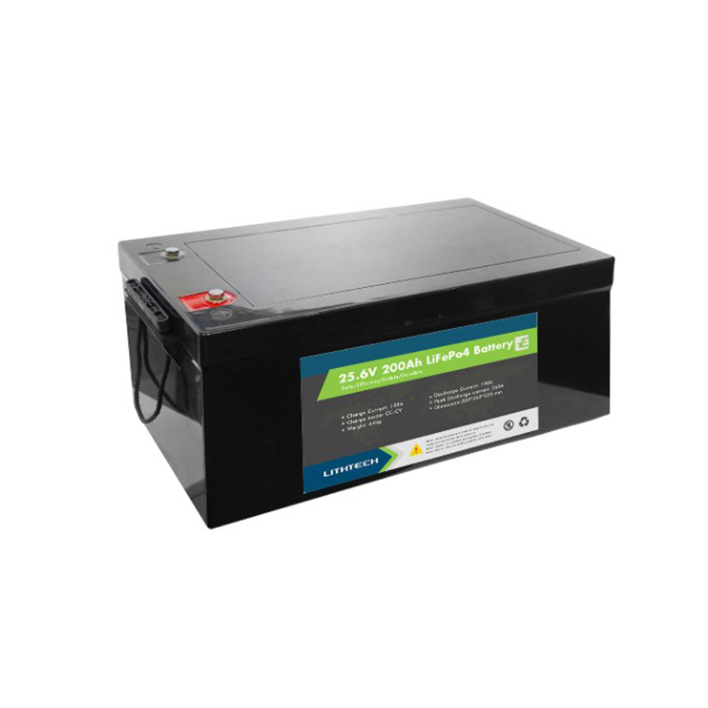 Lithtech TE24100 2 kW Lithium-Batterie-Ups Lithium-Solar-Batterie LCD USB Deep Cycle Telecom 24 V 100 Ah Lifepo4-Akku